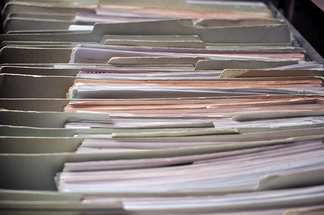 HR File Folders. Photo by Olathe Human Resources/flickr.