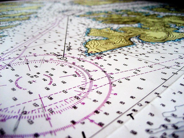 Navigation Chart. Photo by Jeremy Keith/flickr.