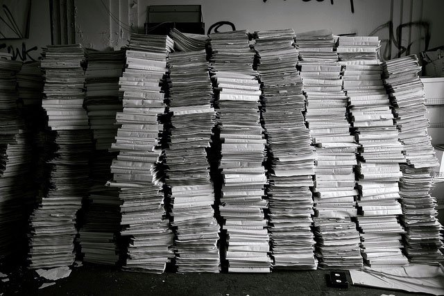 Patient Records. Photo by Ken Fager/Flickr.